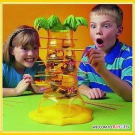 玩具 智力翻鬥抽遊戲棒猴子上樹往下掉親子遊戲【HH婦幼館】