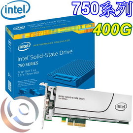 Intel 英特爾 750 400GB 400G HHHL PCIe 半高型 SSD 固態