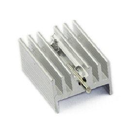 輔助IC散熱器 H型鋁塊 10*15*21MM   導熱 絕緣 散熱片 散熱墊 導熱墊 (銀色)