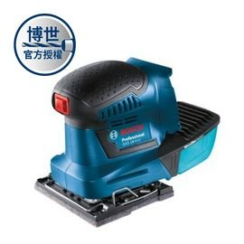 BOSCH 鋰電砂紙機GSS 18V-Li solo(單機)★高清除效率★耐用的砂磨墊且不費力★低振動和噪音