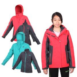 THE NORTH FACE 女HV刷毛兩件式外套(免運 登山 露營【03390987】≡排汗專家≡