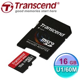 Transcend 創見 MicroSDHC TF T~Flash 16G~Class10