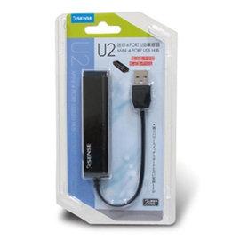 ~上震科技~Esense 逸盛 U2 迷你 4埠 USB HUB 集線器 ELS191