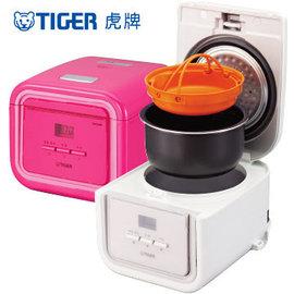 TIGER 虎牌 3人份 tacook 微電腦電子鍋 JAJ-A55R 粉色