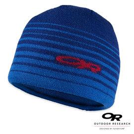 【美國 Outdoor Research】ADAPT BEANIE 美麗諾保暖羊毛帽(僅63g)抗風休閒帽.遮耳帽.毛線帽/保暖.質輕柔軟.透氣_藍 81865(缺貨中)