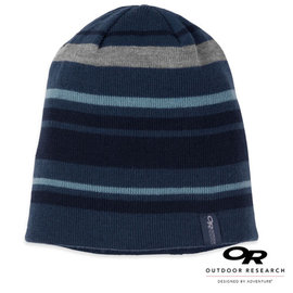【美國 Outdoor Research】VIVID BEANIE 輕量透氣防風毛帽(僅70g)/帽子.防潑水.吸濕排汗.遮耳保暖帽_藍 86433