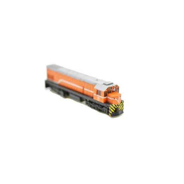 鐵支路 NR1001 N規 R100 柴油車.橘