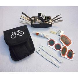 自行車/單車/腳踏車 內六角扳手/板手 多功能工具組 (16合1+補胎工具)