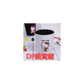 DP雜貨鋪 HELLO KITTY 卡通KT貓桌面垃圾桶 皮質垃圾桶 雜物桶收納