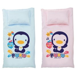 藍色企鵝 PUKU 兒童睡袋~130^~150cm 兩色