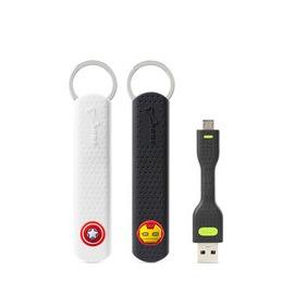 Bone LinKey Micro USB 充電傳輸鑰匙圈~美國隊長 鋼鐵人