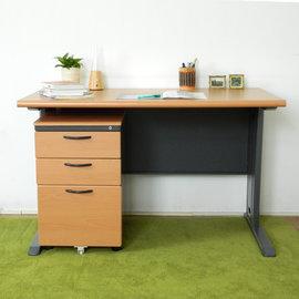 ~ 屋~CD120木紋辦公桌櫃組Y699~14 Y702~1 DIY組裝 製 辦公桌 電腦