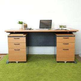 ~ 屋~CD150木紋辦公桌櫃組Y699~16 Y702~1 DIY組裝 製 辦公桌 電腦