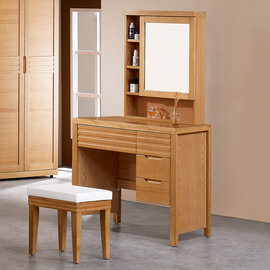 ~Homelike~ 春沐化妝桌椅組 附椅 書桌 電腦桌 工作桌 置物櫃 收納櫃 化妝鏡