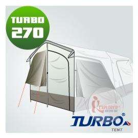 探險家戶外用品㊣CT-270-1 Turbo Lite270專用配件 前門片 (含鋁柱) Turbo Tent適用CT-270速搭帳棚快速帳速搭帳 快搭帳蓬