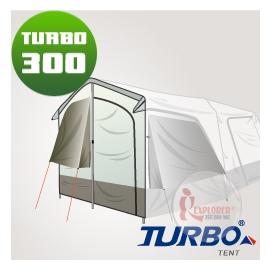 探險家戶外用品㊣CT-300-1 Turbo Lite300專用配件 前門片 (含鋁柱) Turbo Tent適用CT-300速搭帳棚快速帳速搭帳 快搭帳蓬