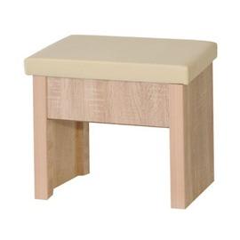 ~KC168~10~ 北原橡木化妝椅