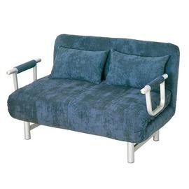~KC49~1~ 203藍布沙發床