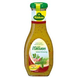冠利 義大利沙拉醬 250ml 清爽口味 沙拉、義式冷麵、燒烤雞肉 kuhne Itali
