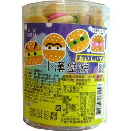 三立 小漢堡餅 (罐)100g
