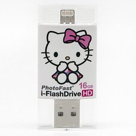 PhotoFast i~FlashDrive HD Hello Kitty雙頭龍iPhon