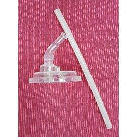 Nuby吸管配件組-不銹鋼真空學習杯/背帶水壺(細吸管)NO.P138