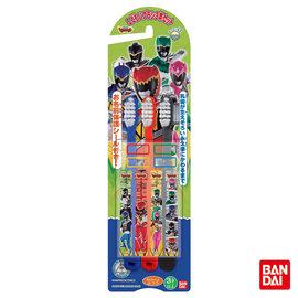 【紫貝殼】 『PEOPLE33』日本原裝進口 bandai-假面騎士系列牙刷3入(附有刷柄貼紙,名字保護貼紙)