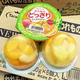 ~李記水果 Fruit Li~ 超美味水果果凍 一盒^(250gx6^)綜合水果口味 滿滿