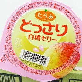 ~李記水果 Fruit Li~ 超美味水果果凍 一盒^(250gx6^)水蜜桃口味 滿滿的