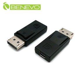 BENEVO DisplayPort^(公^)轉mini DP^(母^)訊號轉接頭 ^(B