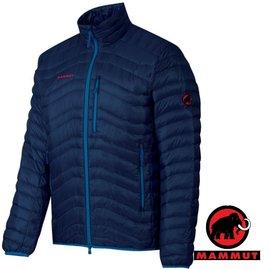 【瑞士 MAMMUT 長毛象】男新款 Broad Peak Light Jacket 高品質防風保暖鵝絨外套/防潑水羽絨衣.夾克大衣.登山滑雪賞雪_藍 18380-5118