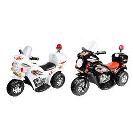 ~衛立兒 館~Ching Ching親親~ 皇家警察電動摩托車 兒童電動車^(白色 黑色^