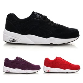 PUMA R698 Allover Suede 男復古休閒鞋(免運 蜂巢式氣墊【02015146】≡排汗專家≡