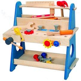 【紫貝殼】『CGD21』德國 Hape 愛傑卡 迷你工作台(E8008A)/兒童玩具/木製玩具【店面經營/可預約看貨】