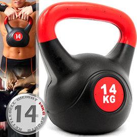 KettleBell重力14公斤壺鈴(30.8磅)14KG壺鈴.C109-2114.拉環啞鈴搖擺鈴.舉重量訓練.運動健身器材.推薦哪裡買 C109-2114