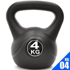 KettleBell重力4公斤壺鈴(8.8磅)4KG壺鈴.C109-2104.拉環啞鈴搖擺鈴.舉重量訓練.運動健身器材.推薦哪裡買