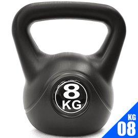 KettleBell重力8公斤壺鈴(17.6磅)8KG壺鈴.C109-2108.拉環啞鈴搖擺鈴.舉重量訓練.運動健身器材.推薦哪裡買