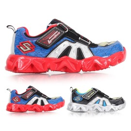 SKECHERS 男女中童慢跑鞋(免運 路跑 童鞋【02015157】≡排汗專家≡