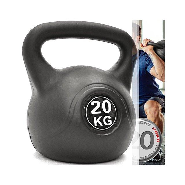 KettleBell重力20公斤壺鈴(44磅)20KG壺鈴C109-2120 拉環啞鈴搖擺鈴.舉重量訓練.運動健身器材.推薦哪裡買