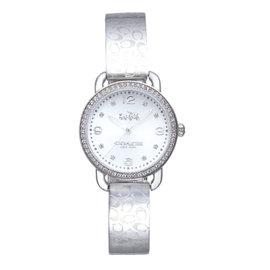新品COACH 漫步巴黎 手鐲腕錶 銀 14502353