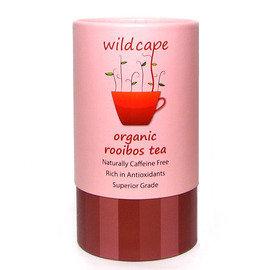 【紫貝殼】『ZA02』南非國寶茶Wild Cape 野角有機南非博士紅茶-40包/罐【天然生成無咖啡因、低單寧酸、溫和無澀味】