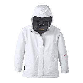 美國 Cabela s GORE~TEX PacLite輕量化透氣風雨衣^(女孩款 白^)
