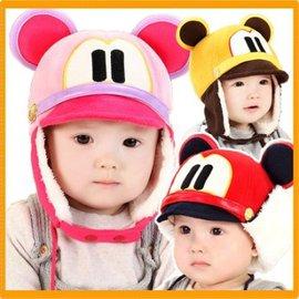 帽子 兒童帽子秋冬寶寶帽子0-1-2歲嬰兒帽男女童小孩加絨護耳帽套頭帽【HH婦幼館】
