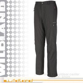 【荒野 WildLand】男新款 雙層系列 防潑水防風保暖長褲.休閒長褲/外層柔軟內刷毛保暖.吸濕快乾.抗靜電.抗紫外線/0A02328 深卡灰