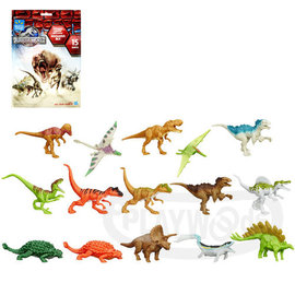 ~Playwoods~^~侏儸紀世界^~迷你恐龍玩具包 款^(Jurassic World