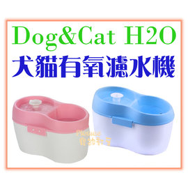 ~Plumes寵物部屋~DOG  CAT H2O ~有氧濾水機2L~活水飲水器 飲水機 淨