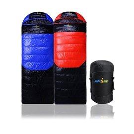 購瘋趣shop4fun 睡袋^~藍黑 紅黑兩色拆帽可拼接