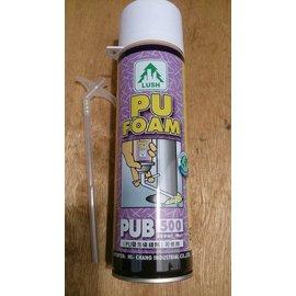 ~易威工作坊~LUSH牌 PU FOAM PU發泡劑 發泡填縫劑 可修飾 500ml