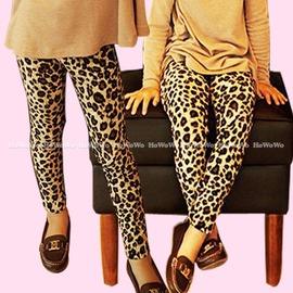 長褲 豹彈性紋內搭褲 S24202