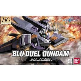 鋼彈模型 HG 1 144 鋼彈SEED GAT~X1022 BLU DUEL GUNDA